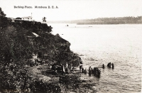Bathing place, Mombasa, B.E.A.