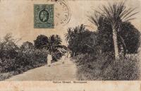 Native Street. Mombassa