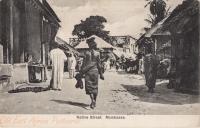 Native Street. Mombasa