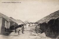 A Native Street. Mombasa B.E.A.