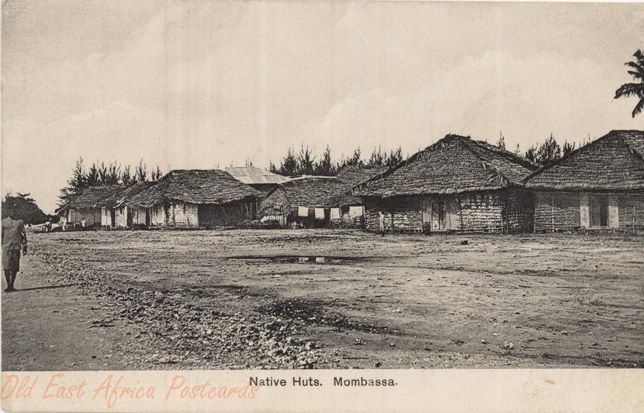 Native Huts. Mombasa
