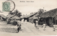 Mombasa. Native Street