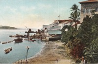 Der Hafen von Mombasa, Englisch-Ost-Afrika