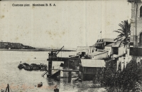 Customs Pier. Mombasa B.E.A.