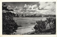 View of Indian Quarter, Mombasa