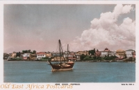 Arab Dhow Mombasa