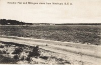 Kilindini Pier and Mtongwe views from Mwakupa, B.E.A.
