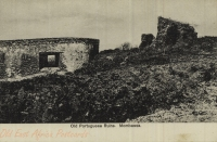 Old Portuguese ruins, Mombass