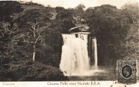 Chania Falls near Nairobi B.E.A.