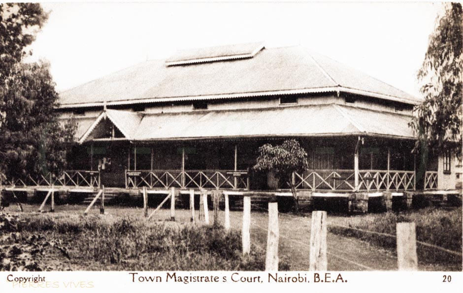 Town Magistrate's Court,Nairobi (B.E.A.)