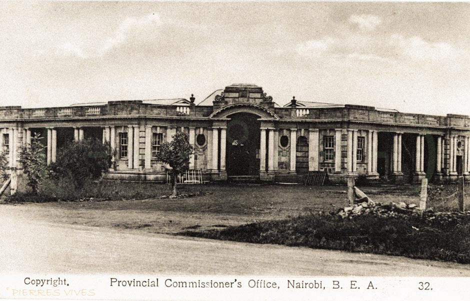 Prov. Commissioner's Offices, Nairobi