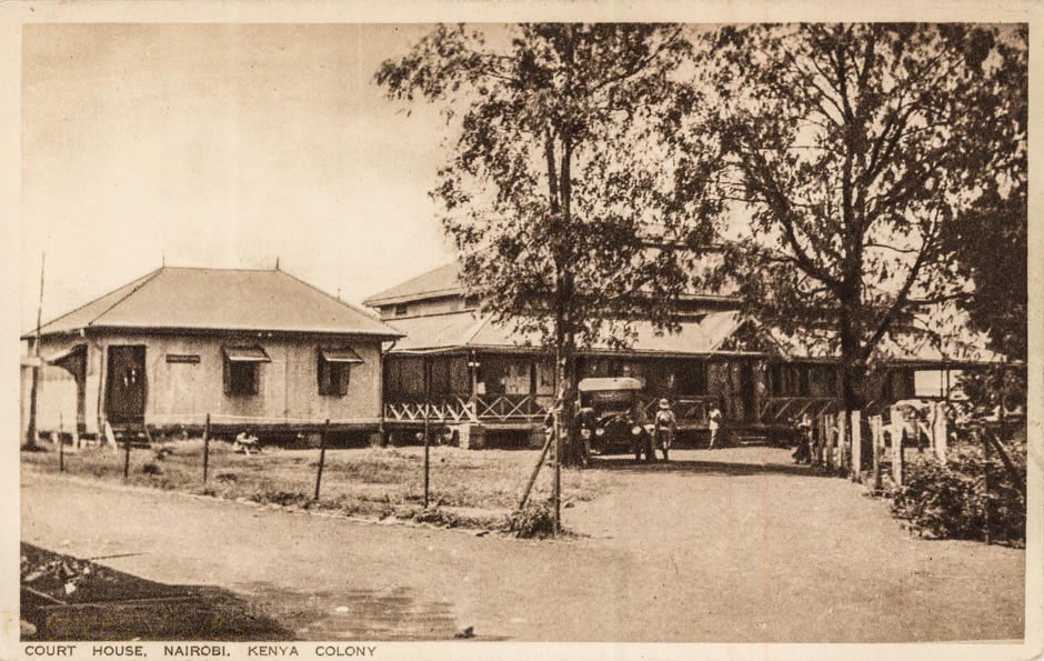 Court House, Nairobi,Kenya Colony