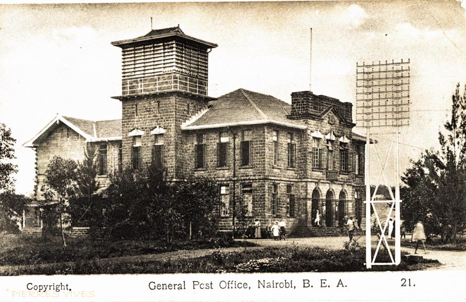 General Post Office, Nairobi - B.E.A.