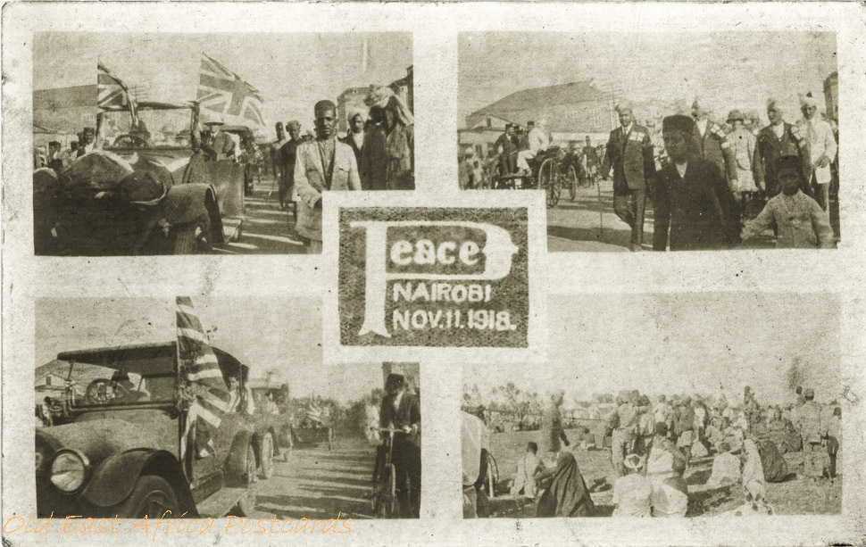 Peace, Nairobi - Nov. 11 - 1918