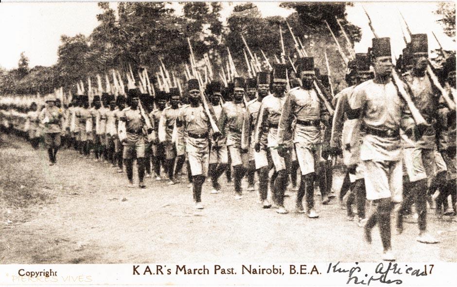 K.A.R. March Past, Nairobi B.E.A.