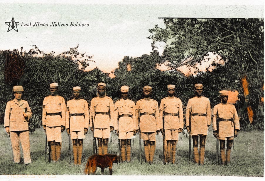 East African Native soldiers