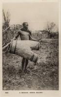 A Beehive. Kenya Colony