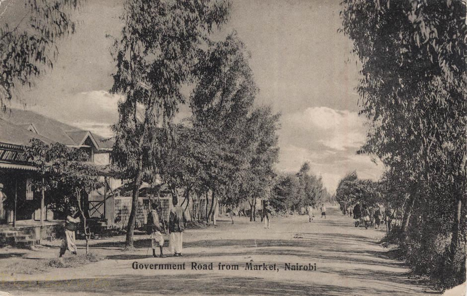 Government Road from Market, Nairobi