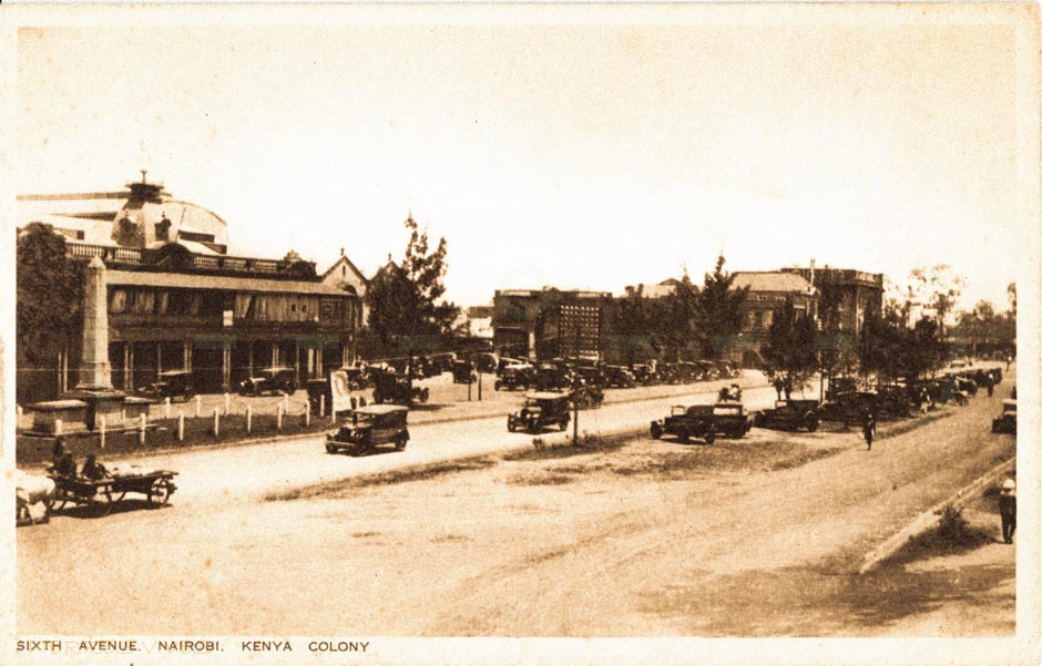 Sixth Avenue, Nairobi Kenya Colony
