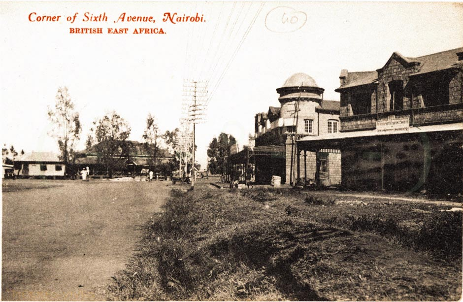 Corner of Sixth Avenue, Nairobi B.E.A.