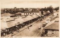 Indian Bazaar, Nairobi. Kenya Colony