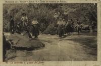 La carovana al guada del fiume