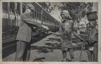 KENYA COLONY Kavirondo, a blind beggar