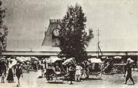 OLD NAIROBI The Railway Station (not original postcard)