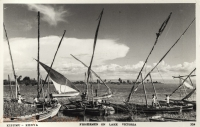 Fishermen on Lake Victoria