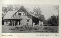 Barry s Hotel - Thomson s Falls, Kenya B.E.A.