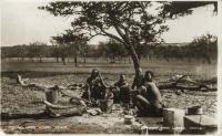 Cooking, Masai women - Kenya