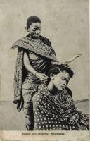 Swahili Hair dressing. Mombassa