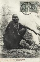 Near the fire - Kikuyu