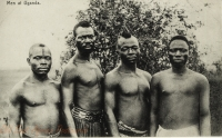 Men at Uganda