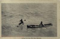 Diving for coins, Mail Day, Zanzibar