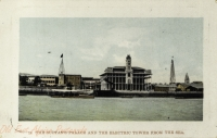 The Sultan s Palace and the Electric Tower from Sea