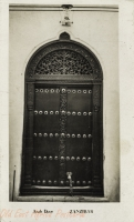Carved Door of Ancient Time