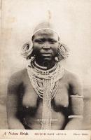 A Native Bride BRITISH EAST AFRICA