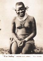 """Keep Smiling"" BRITISH EAST AFRICA"