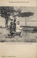 Au travail au bord du Lac Victoria Nyanza