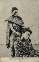 Swahili Hair dressing. Mombassa