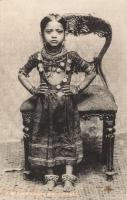 An Indian (Bramin) Girl, Zanzibar