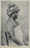 Comoro Woman, Zanzibar