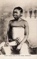 Swahili woman ready for their Dance. Mombassa