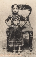 An Indian (Bramin) Girl, Zanzibar