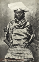 Zanzibar, Swahili Woman in Arabic costume