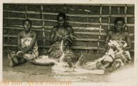 Native Girls at Work - Zanzibar