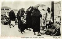 Native Women out shopping
