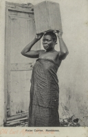 Water Carrier, Mombassa