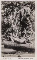 Kikuyus preparing food